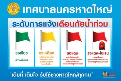 คำอธิบายภาพ : flood-flag